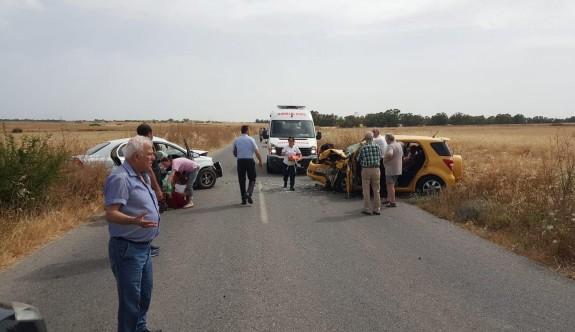 Dörtyol - Türkmenköy arası kaza: 9 yaralı