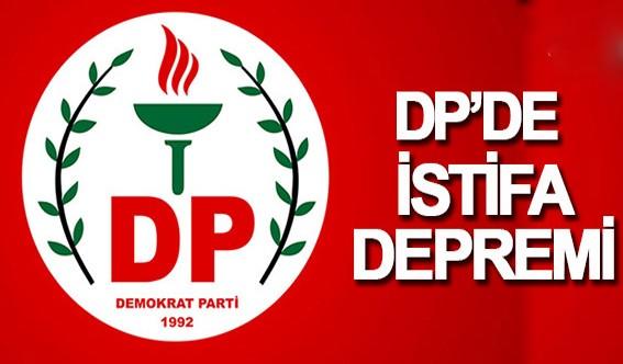 DP'de istifa depremi