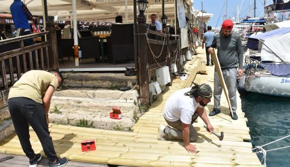 Girne Antik Liman'a el değdi