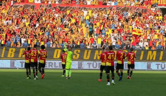 Göztepe'de büyük sevinç
