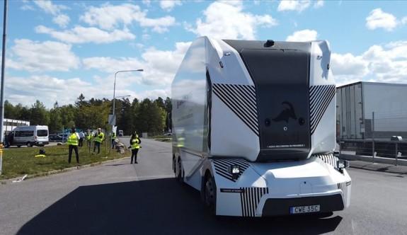 İsveç'te 'sürücüsüz kamyon' dönemi başlıyor