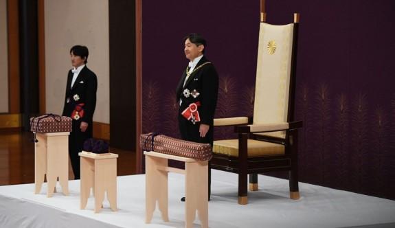 Japonya'nın yeni imparatoru Naruhito