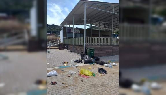 Kirleten karavancılar kadar belediye de suçlu