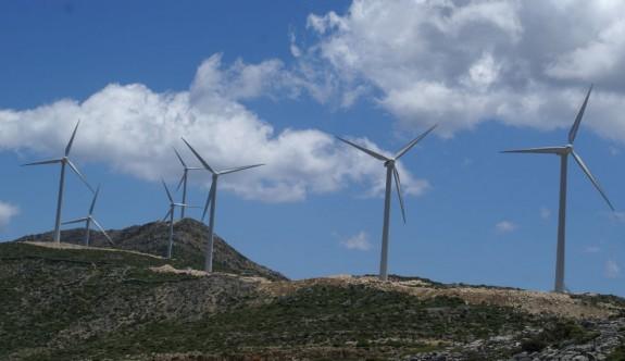 """Larnaka'nın """"Kellia"""" (Yıldırım) köyüne rüzgar parkı kuruluyor"""