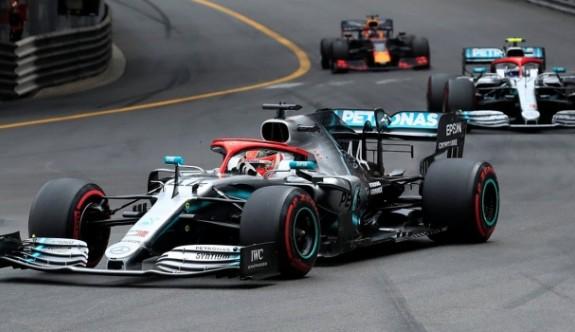 Monaco'da zafer Hamilton'un
