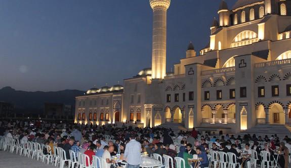 Ramazan ayı boyunca iftar yemeği verilecek