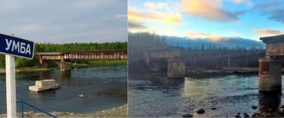 Rusya'da hırsızlar demir köprüyü çaldı