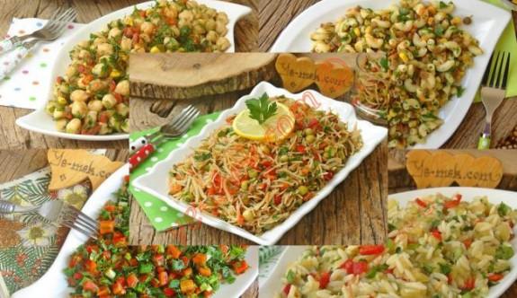 Tek Başına Yendiğinde Bile Tıka Basa Doyuran 20 Farklı Salata Tarifi