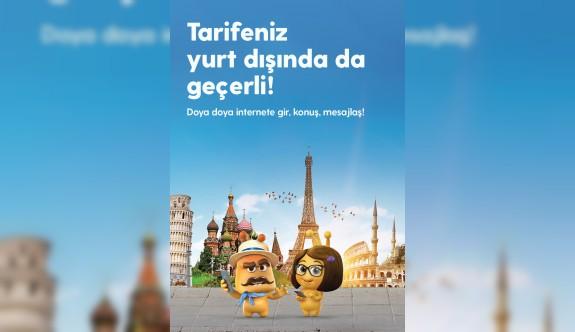 """""""Turkcell tarifeleri yurt dışında da aynen geçerli"""""""
