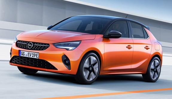 Yeni Opel Corsa'nın örtüsü kalktı