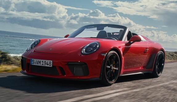 2019 yeni Porsche 911 Speedster tanıtıldı