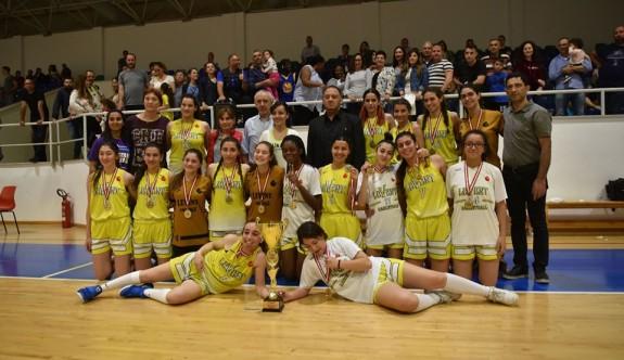 Basketbolun kraliçesi Leventspor