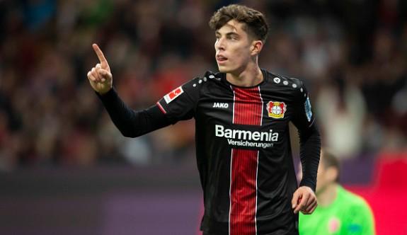 Bundesliga'nın en iyisi Havertz