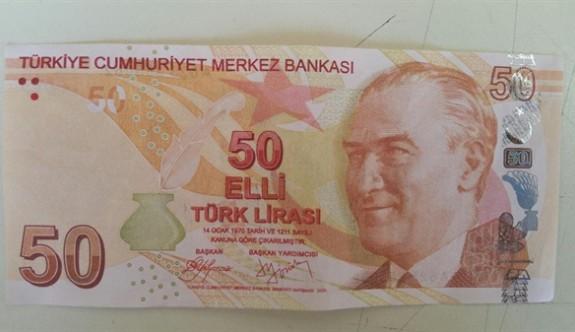 Girne'de Sahte 50 TL'likler piyasaya sürüldü