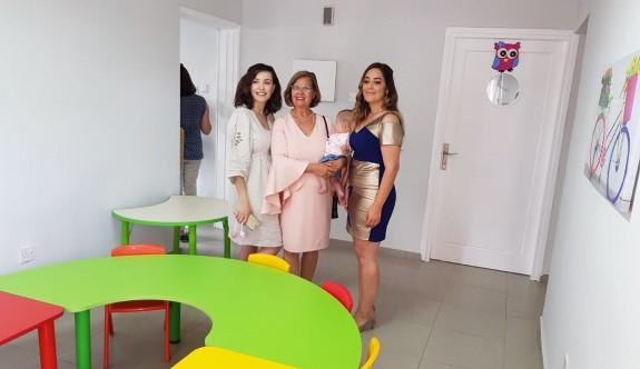 Gönyeli'de okul öncesi eğitim merkezinin açılışını Meral Akıncı yaptı