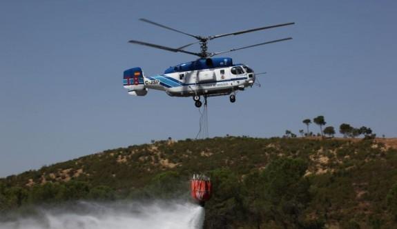 Güney Kıbrıs üçüncü yangın helikopterini kiralıyor