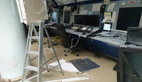 Güney'de Uçuş Kontrol Merkezi'nin tavanı çöktü