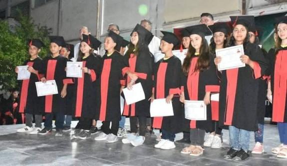 Haspolat'ta mezuniyet coşkusu
