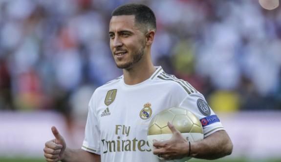 Hazard'dan Real Madrid'e 5 yıllık imza