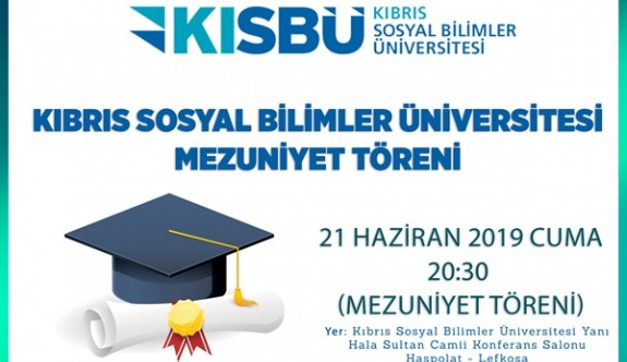 KISBU ilk mezunlarını veriyor