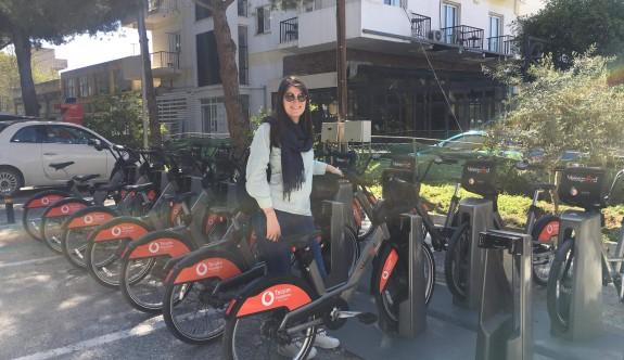 Lefkoşa'da bisikletler bugün ücretsiz