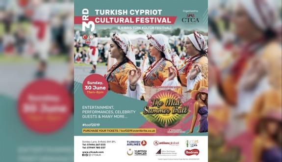 Londra Kıbrıs Türk Kültür Festivali pazar gün yapılıyor