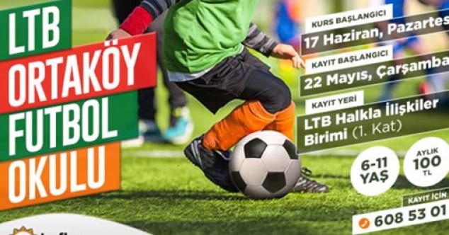 Ortaköy Futbol Okuluna kayıtlar sürüyor