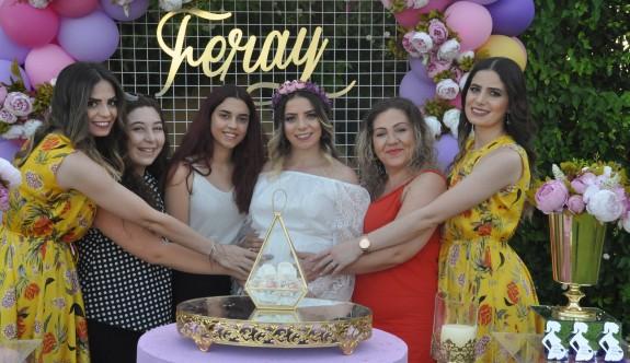 Terkan'dan Feray için baby shower