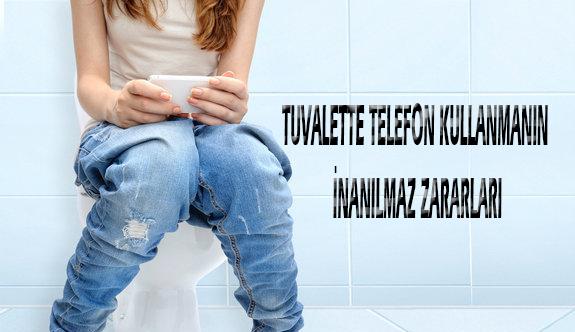 Tuvalette telefon kullanmanın inanılmaz zararları