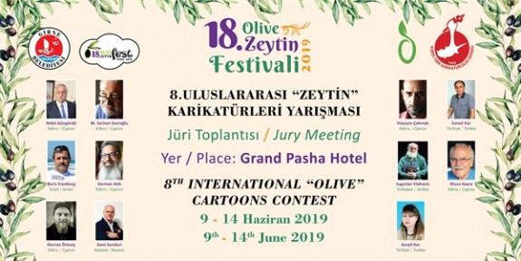 Uluslararası Zeytin Karikatürleri Yarışması ve jürisi, yarın tanıtılacak