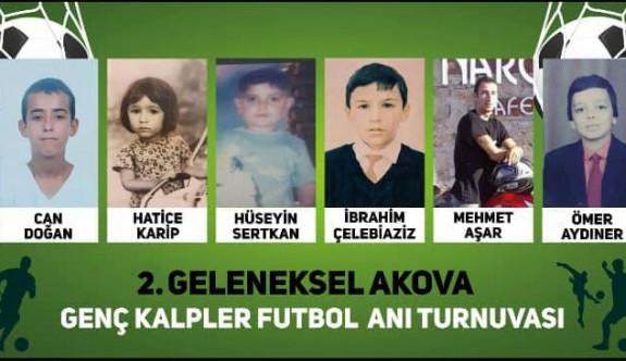 Akova geleneksel anı turnuvası gerçekleşecek