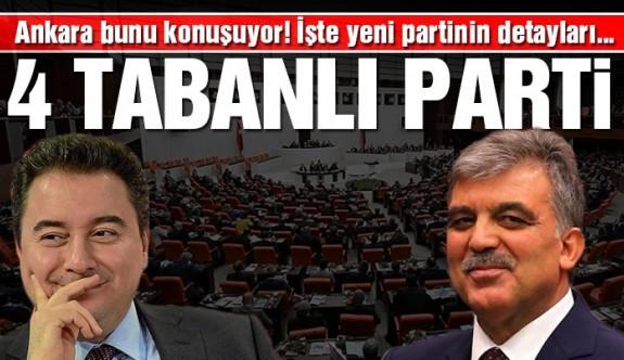 Ankara bunu konuşuyor! 4 tabanlı yeni parti