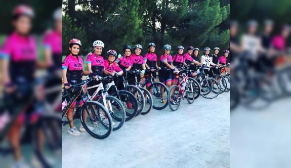 BSD kadınları, bisikleti yaşama katıyor