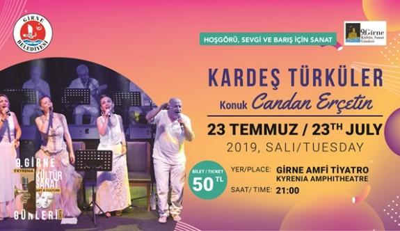 Candan Erçetin ve Kardeş Türküler  konseri yarın