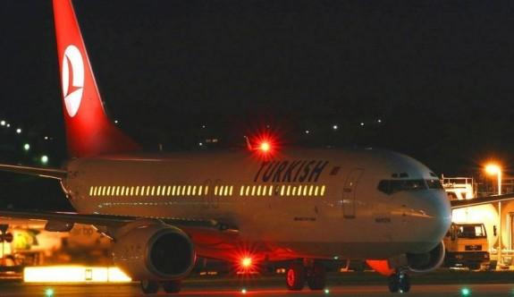 Ercan'a acil iniş yapan THY uçağına Güney'den direk uçuş izni çıkmadı