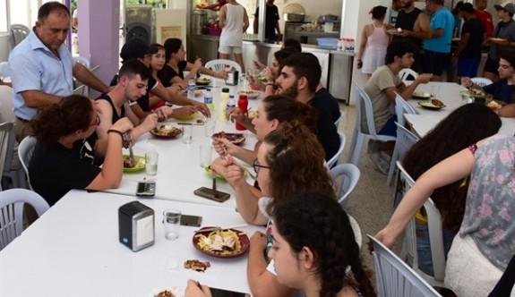 Gençlik Dairesi Kantara Yaz Kampları sürüyor
