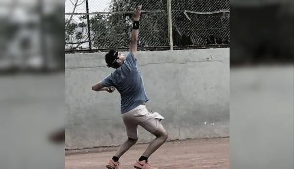 Gönyeli'de tenis heyecanı yaşanıyor