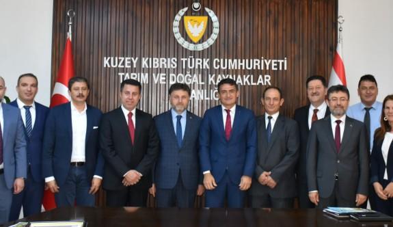 KKTC'den Türkiye'ye alım garantili üretim çalışması