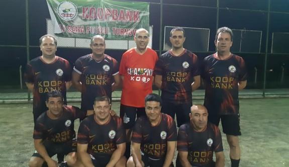 Koopbank personeli futbolla kaynaşıyor