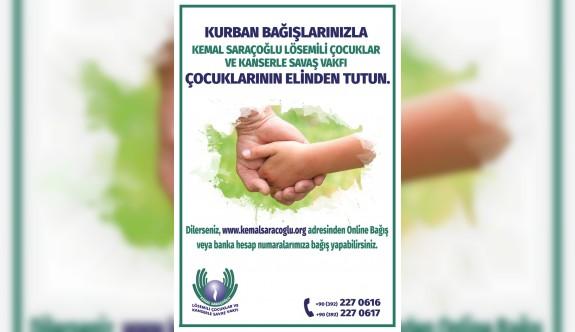 Kurban bağışlarınızla çocuklarımızın elinden tutun