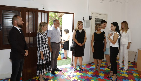 Lefkoşa'daki Algım Özel Eğitim Merkezi yeni şubesi hizmete açıldı