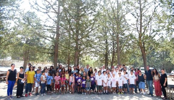LTB yaz kurslarına katılan çocuklar yaban hayatla tanıştı