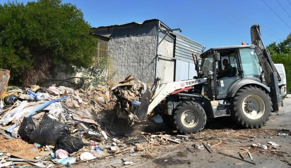 LTB'den Sanayi Bölgesi'nde temizlik operasyonu
