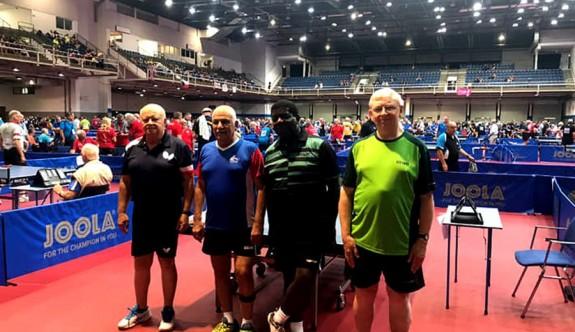 Masa tenisçilerimizin  Macaristan'daki mücadelesi sürüyor