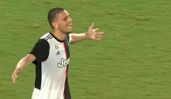 Merih attı Juventus kazandı