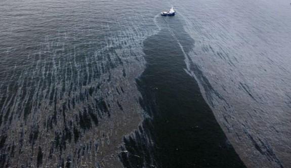 Şili'de 40 bin litre akaryakıt denize döküldü
