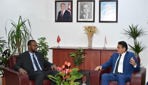 """""""Somali'yle tarım alanında iş birliği yapma arzusundayız"""""""