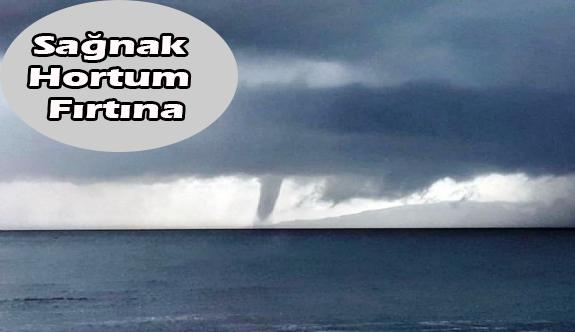 Türkiye'nin her yanında fırtına ve yağmur etkili oluyor