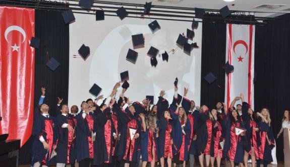 Veteriner hekimlerin mezuniyet coşkusu