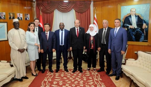 Yabancı parlamenterler kutlamalara geldi